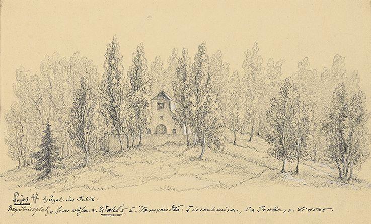 Sophie von Ungern-Sternberg. Pajusi mõisa kalmistu.