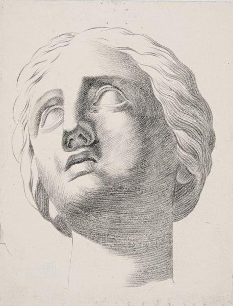 Henriette von Helffreich (1811–1905). Niobe pea.