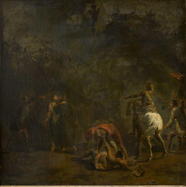 Leonaert Bramer. Kristuse vahistamine. U 1626-1628.