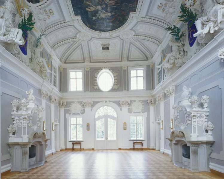 Kadrioru kunstimuuseumi interjöör. (Foto: Stanislav Stepaško)