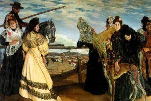 Ignacio Zuloaga. Enne härjavõitlust.