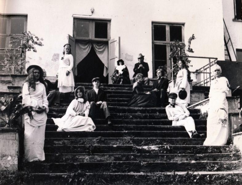 Mõõtmis- ja maalipraktika Palmses 1975.