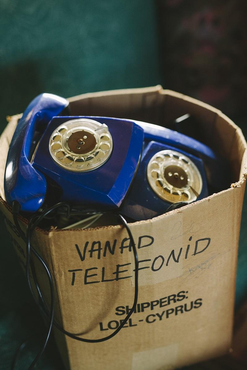 Nõukogudeaegsed telefonid.