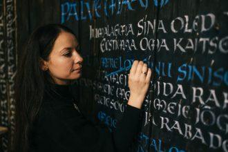 Kalligraaf Tatiana Iakovleva