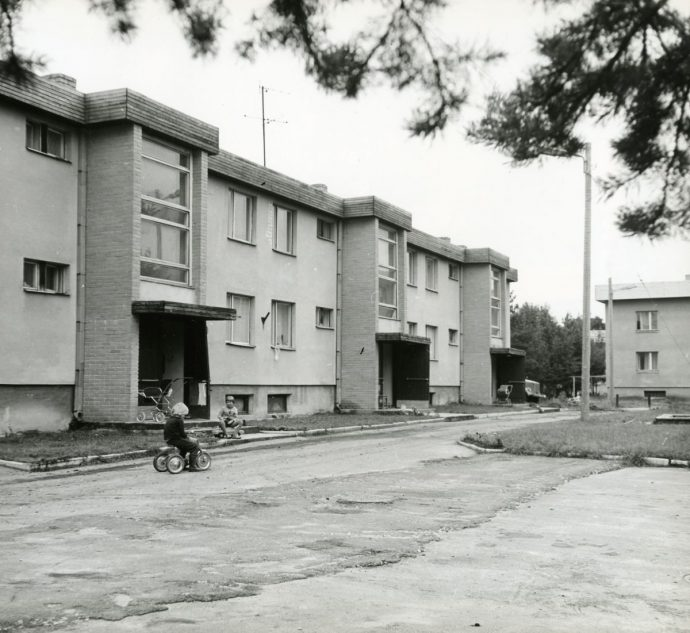 Kolhooside aja tüüpprojektiga maja