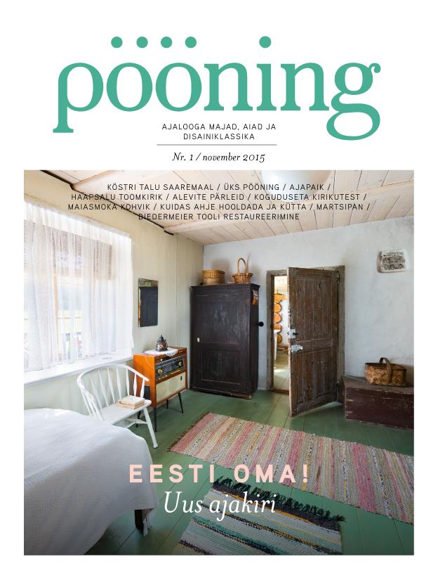 Uus ajakiri Pööning ilmub novembris!